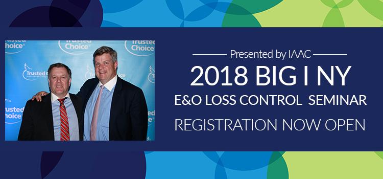 E&O Loss Control Seminars 2018